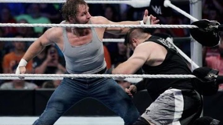 Dean Ambrose vs Kevin Owens (for Intercontinental title): WWE Royal Rumble 2016 25.01.2016