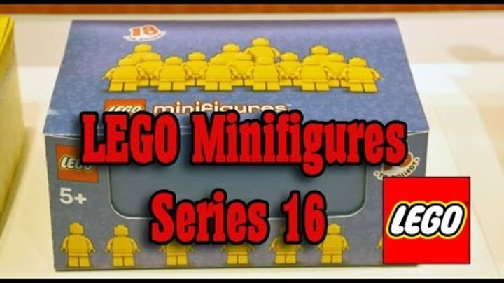 LEGO Minifigures Series 16 figure list. 71013 Минифигурки лего 16 серия