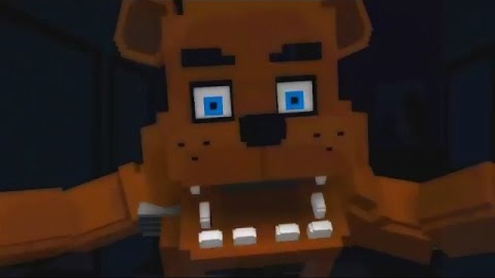Все Скримеры - MINECRAFT FNAF 1 All Jumpscares