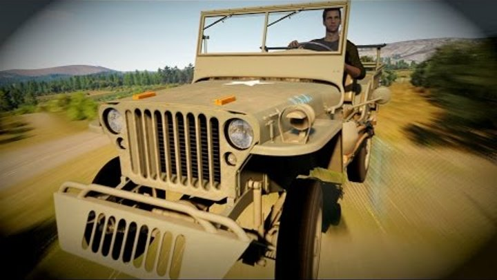 Неудержимый Jeep Willys MB 1945 | Storm Island | Forza Horizon 2