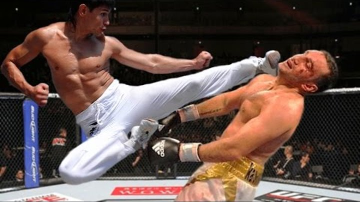 Taekwondo in MMA! Top-8 best knockouts and highlights!