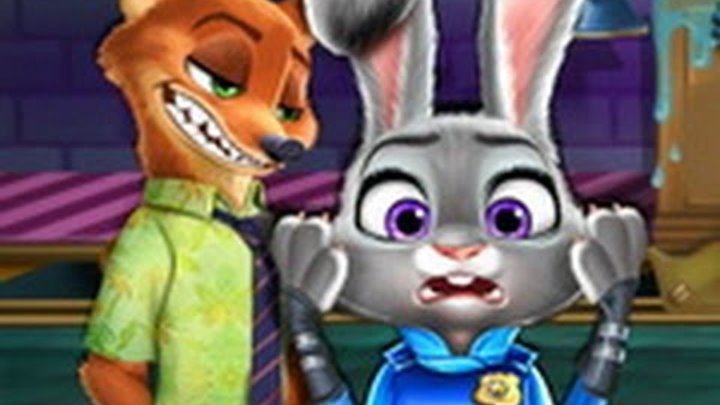 Judy and Wilde Police Disaster - Best Game for Little Kids