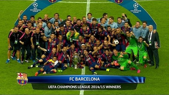 Juventus vs FC Barcelona 1-3 Highlights (UCL Final) 2014-15 HD 1080i (English Commentary)