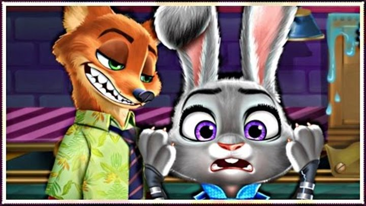 Judy and Wilde Police Disaster - Game For Kids