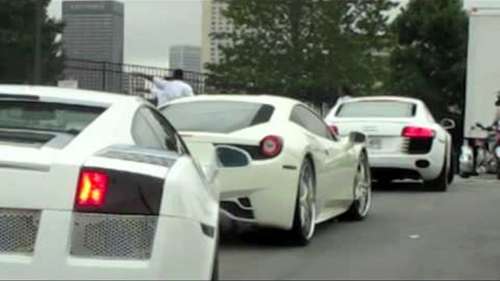 Akon Cars to V103 Car Show