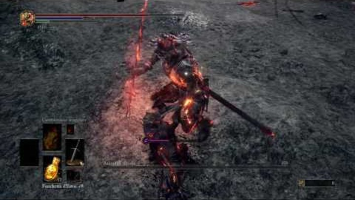 Dark Souls 3 Gameplay # 18 BOSS ANIMA DI TIZZONI FINE
