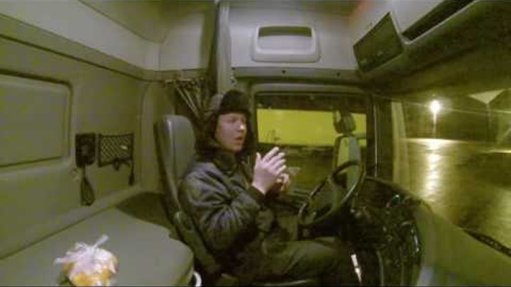 Deaf from Lithuania job driver truck Sweden