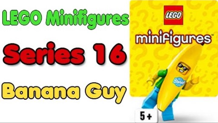 LEGO Minifigures Series 16 Banana Guy Revealed! 71013