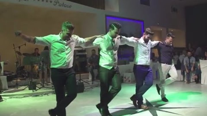 Zorbas Dance (Sirtaki) - Greek wedding Volos - ΦΕΡΑΙ PALACE
