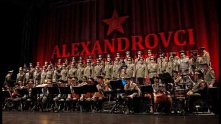 Red Army Choir - Ave Maria (Alexandrov Ensemble Tribute)