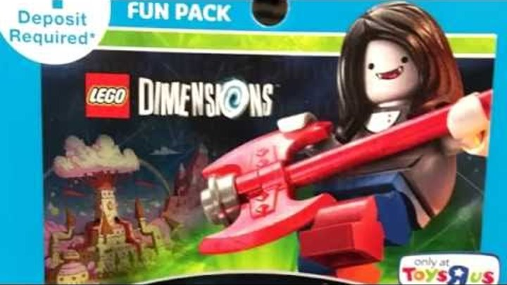 LEGO Adventure Time Marceline - Vampire Queen fun pack revealed!