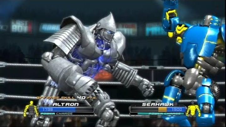 Real steel world robot boxing-nice fight(Живая сталь)Altron#13