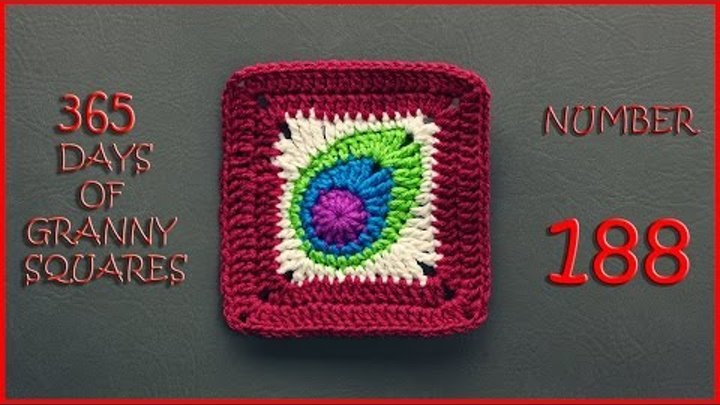 365 Days of Granny Squares Number 188