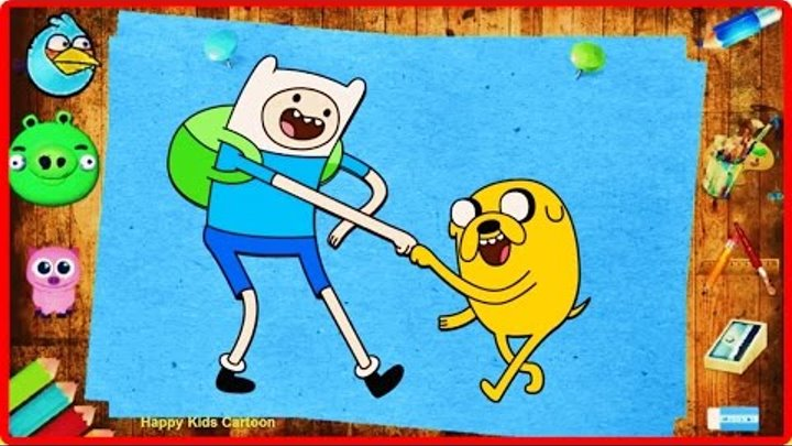 Magic Pencil Adventure Time Coloring Book For Kids - Learn Colors - Coloring Pages FOr Toodlers