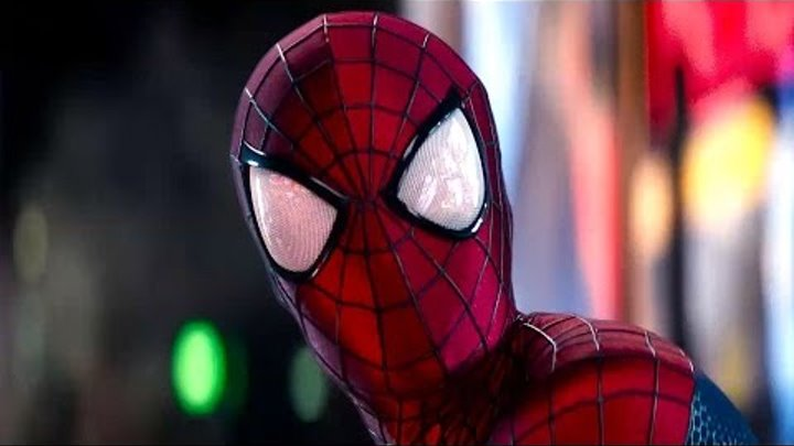 Spider-Man vs. Electro - Times Square Battle - The Amazing Spider-Man 2 Movie