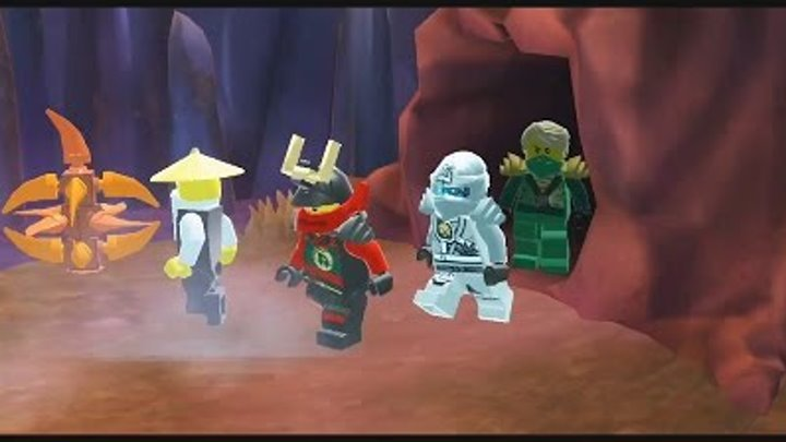 Лего Ниндзяго мультик Игра на русском языке.Тень Ронина Эпизод 19.LEGO Ninjago Game.Episode 19.