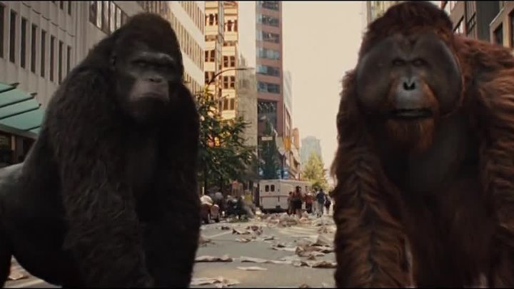 Rise of the Planet of the Apes music video