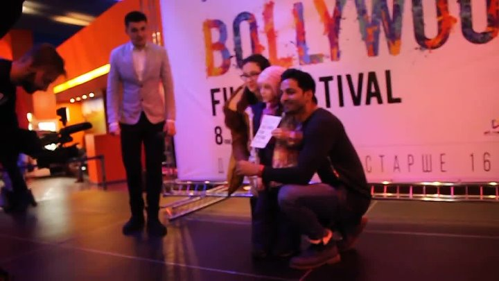 Harshvardhan Rane in St. Petersburg (Russia) on the Bollywood Film Festival
