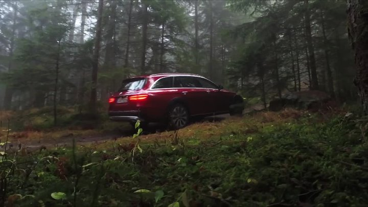 Mercedes-Benz E-class All-Terrain на бездорожье