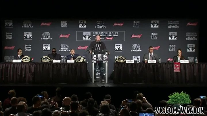 UFC 205 Pre-fight Press Conference [русская озвучка от My Life Is MMA]