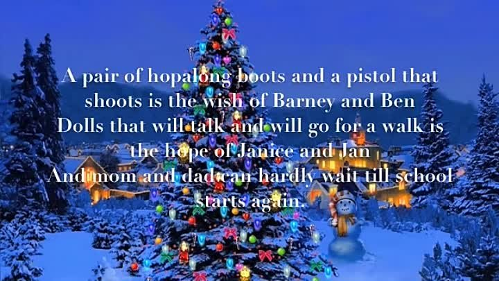 'It's Beginning to look a lot like Christmas' by Johnny Mathis [Lyrics]