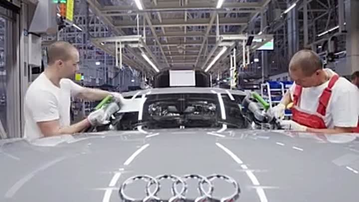 Как пакуют Audi (Germany.
