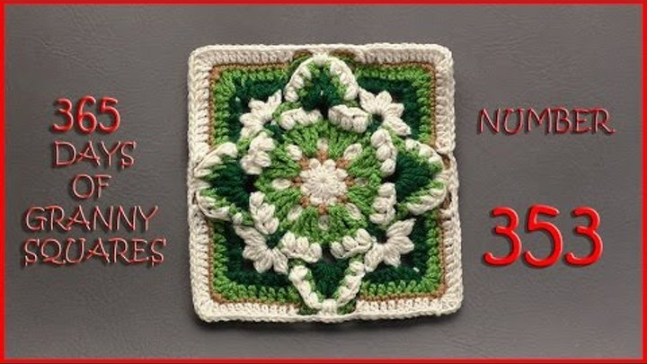 365 Days of Granny Squares Number 353
