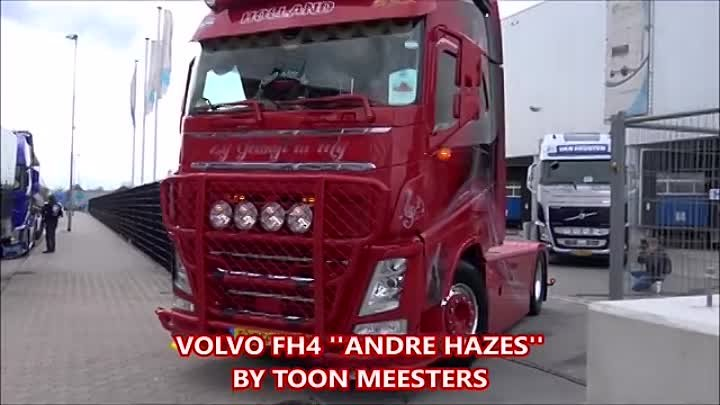 VOLVO FH4 SHOWTRUCK ''ANDRE HAZES'' BY TOON MEESTERS