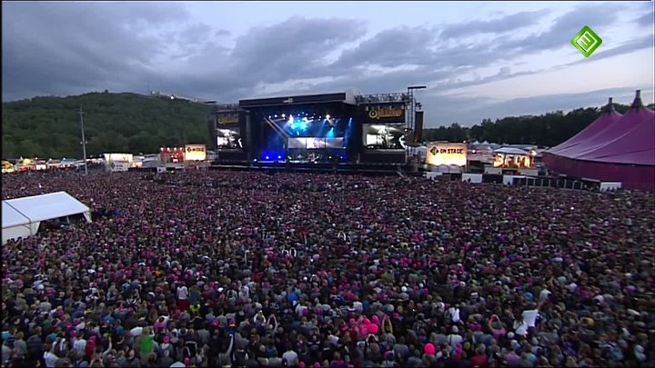 Coldplay - Violet Hill - Pinkpop 2011 - HD1080i