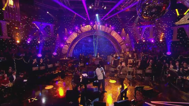 """Gregory Porter and Rag n Bone man .""""Bring it on home to me"""" Later... with Jools Holland • Annual Hootenanny 2017. by zaza."""
