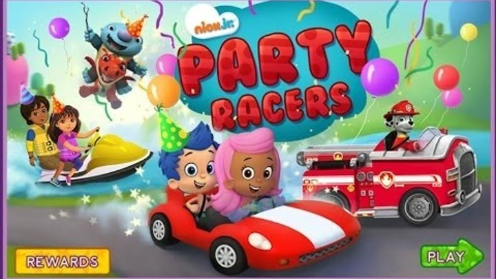 Dora the Explorer and Friends PAW Patrol Bubble Guppies Wallykazam Full Kids Game