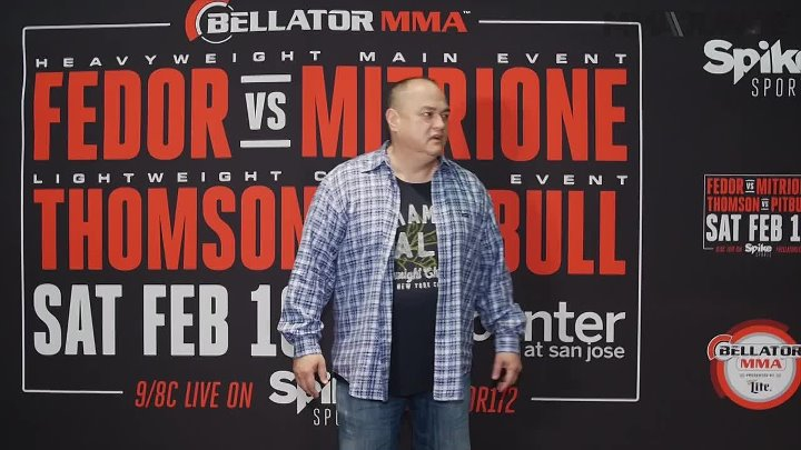 The headliners for Bellator 172 face-off at media day