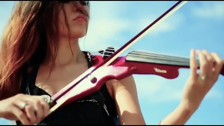 Electric Violin Cover _ Caitlin De Ville