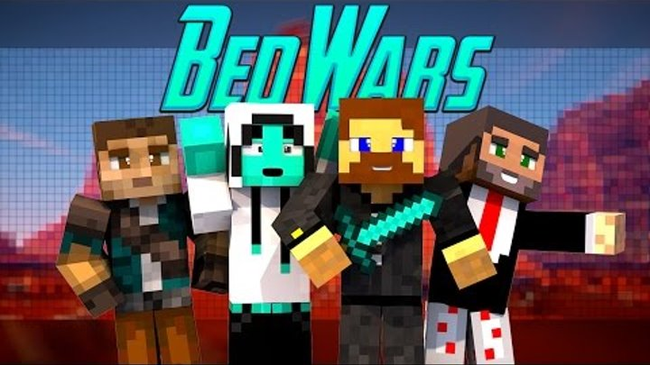 Minecraft Bed Wars #2 - Евгеха и его команда!