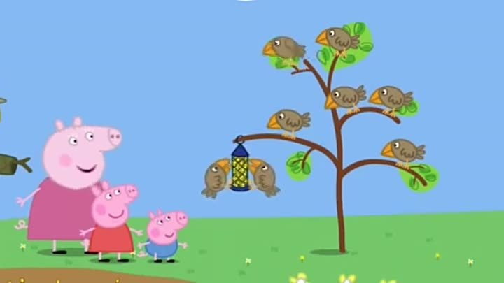 Peppa Pig Season 2 Episode 10 Mr Scarecrow