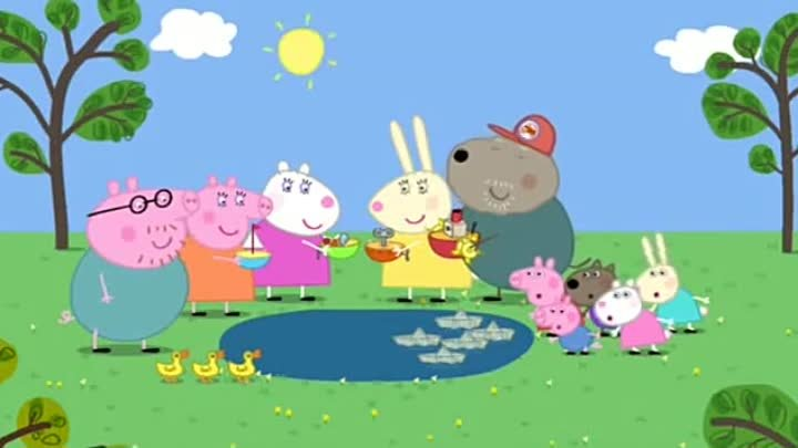 Peppa Pig Season 2 Episode 11 The Boat Pond