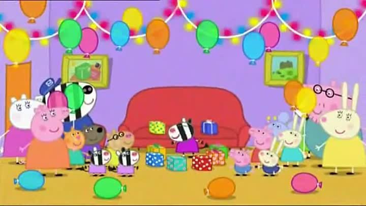 Peppa Pig Season 2 Episode 19 Zoe Zebra the Postmans Daughter