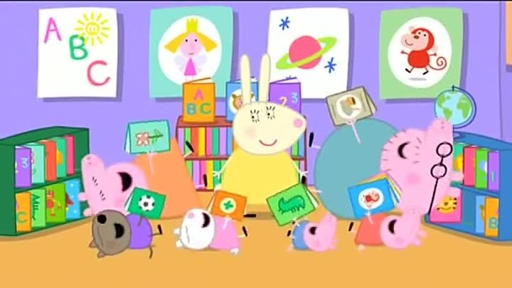 Peppa Pig Season 3 Episode 04 The Library