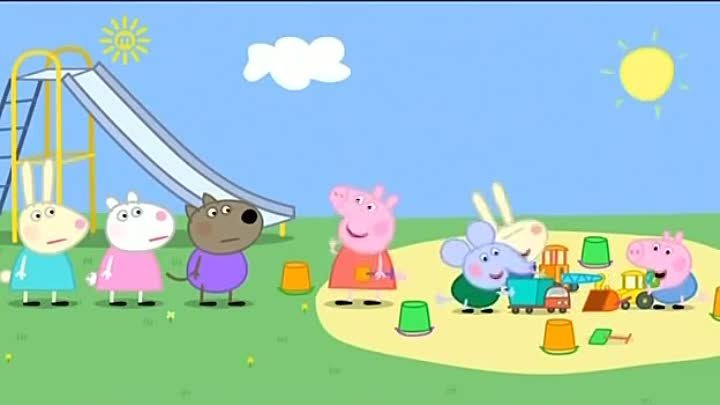 Peppa Pig Season 3 Episode 26 Digging up the Road