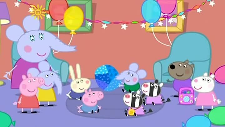 Peppa Pig Season 3 Episode 49 Edmond Elephant's Birthday