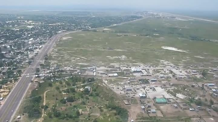 An-26.Congo DR.Visual Approach at Kinshasa N*Djili.flv