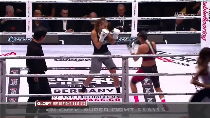 GLORY COLLISION Women's GP Semifinal Isis Verbeek vs. Amel Dehby [720p]