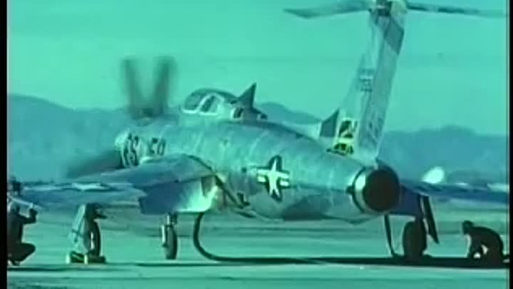 F-84H Thunderstreak - Propeller variant