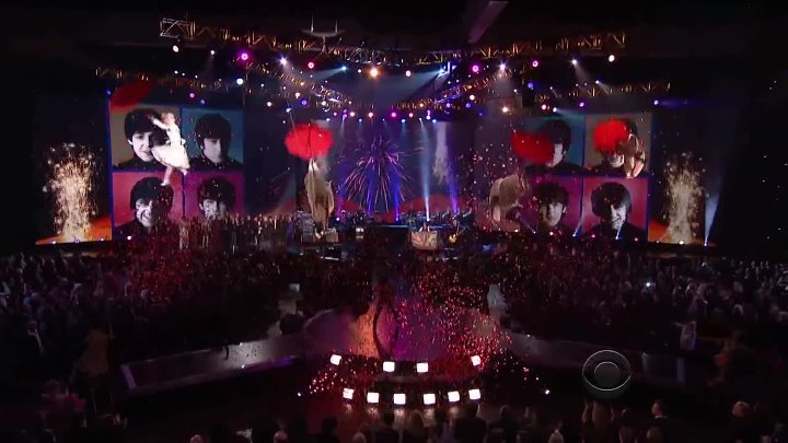 Hey Jude (Paul McCartney and Ringo Starr Grammy Salute to The Beatles) 2014-01-2