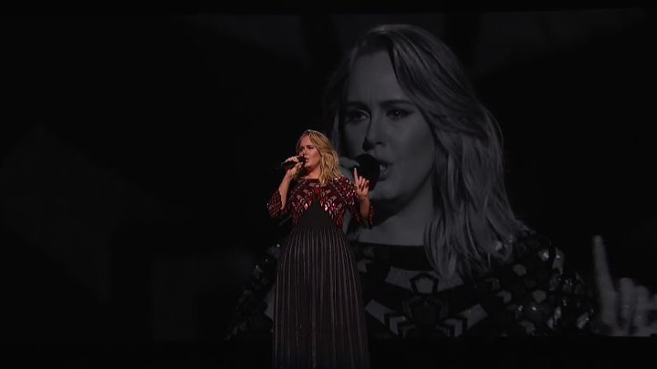 FULL HD! Adele - Hello (Live at Grammy's 2017)