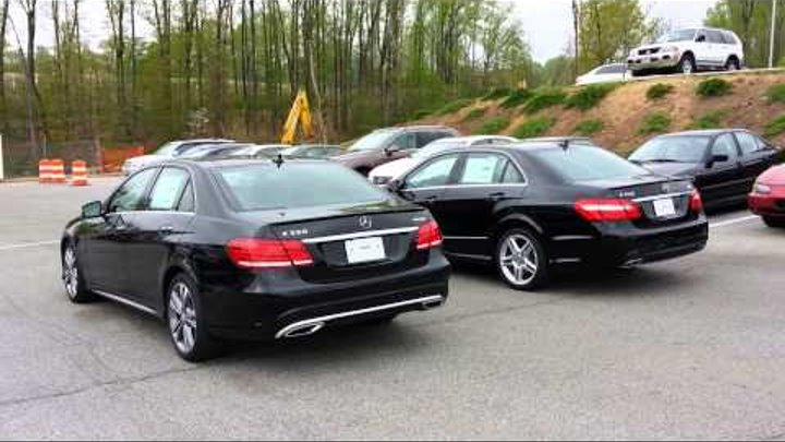 2014 Mercedes-Benz E350 vs 2013