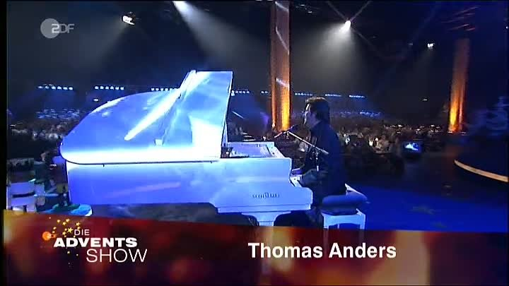 Thomas Anders - Just dream (Live ZDF Advents Show 28.11.2004)