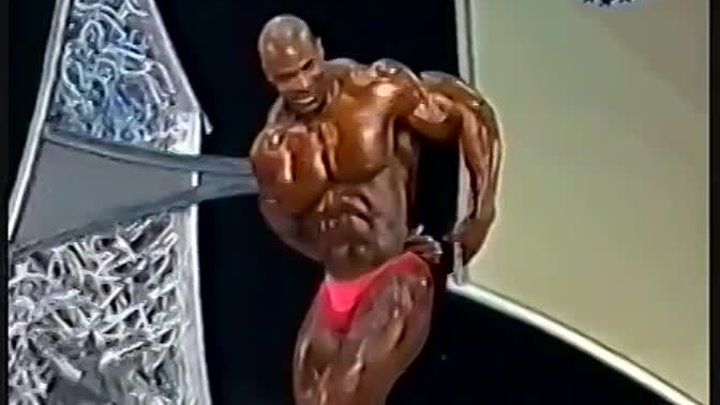 Ronnie Coleman (8-times Mr Olympia) IFBB Arnold Classic Bodybuilding 1997