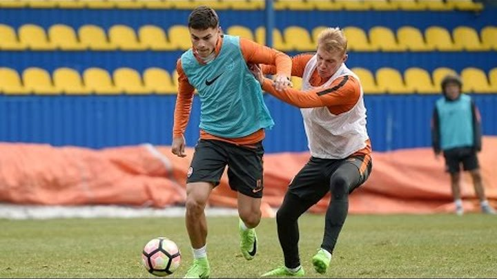 Final training ahead of the match against Zorya