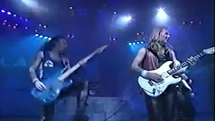 """Iron Maiden - Hallowed be thy name-Maiden England -1988-(musik.klab ROK ДЖУНГЛИ!!! -""""(official)""""."""